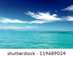 beautiful tropical sea under... | Shutterstock . vector #119689024