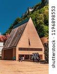 vaduz  liechtenstein  16th... | Shutterstock . vector #1196898553