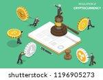isometric flat vector concept... | Shutterstock .eps vector #1196905273