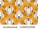 halloween seamless pattern.... | Shutterstock . vector #1196915530
