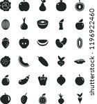 solid black flat icon set... | Shutterstock .eps vector #1196922460