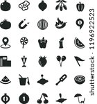 solid black flat icon set wind... | Shutterstock .eps vector #1196922523