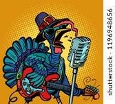 thanksgiving turkey character...   Shutterstock .eps vector #1196948656