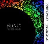 music background with colorful...   Shutterstock .eps vector #1196963800