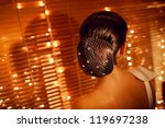 back hairstyle of the girl | Shutterstock . vector #119697238