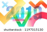 happy new year design concept....