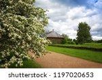 view of trigorskoye estate... | Shutterstock . vector #1197020653
