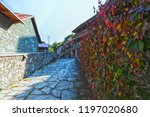 tourist town in the city of... | Shutterstock . vector #1197020680