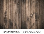 old grunge dark textured wooden ... | Shutterstock . vector #1197022720