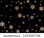crystal snowflake and circle... | Shutterstock .eps vector #1197027739