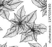 christmas pattern seamless... | Shutterstock .eps vector #1197035650