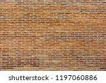 yellow new bricks wall... | Shutterstock . vector #1197060886