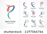 abstract people logo design.... | Shutterstock .eps vector #1197066766