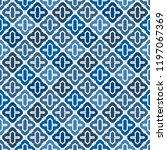 oriental traditional pattern.... | Shutterstock .eps vector #1197067369