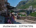 bosnia  5 07 2018  a don t... | Shutterstock . vector #1197067396