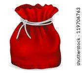 new bag of santa claus  vector... | Shutterstock .eps vector #119706763