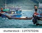 nha trang  vietnam october 3 ... | Shutterstock . vector #1197070246