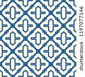oriental traditional pattern.... | Shutterstock .eps vector #1197077146