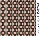 oriental traditional pattern.... | Shutterstock .eps vector #1197077149