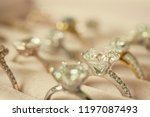 jewelry diamond rings and... | Shutterstock . vector #1197087493