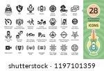 vector autonomous self drive... | Shutterstock .eps vector #1197101359
