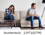 sad  desperate  frustrated... | Shutterstock . vector #1197102790