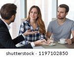 lawyer or realtor advisor in... | Shutterstock . vector #1197102850