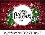 vector illustration of greeting ... | Shutterstock .eps vector #1197128926