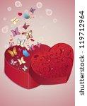 valentine's day   Shutterstock .eps vector #119712964