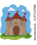 castle   Shutterstock .eps vector #119712988