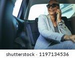 cheerful mature woman in...   Shutterstock . vector #1197134536