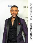 Small photo of Blue Kimble attends 2018 Geanco Foundation Hollywood Gala at Spectra, Pacific Design Center, Los Angeles, California on October 6th, 2018