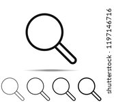 search icon in different shapes ...