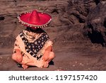 white man disguised as a... | Shutterstock . vector #1197157420