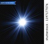 light flare special effect.... | Shutterstock .eps vector #1197177076
