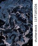 abstract dark marble texture. | Shutterstock . vector #1197185206