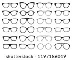 glasses vector collection.... | Shutterstock .eps vector #1197186019