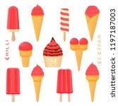 vector illustration for natural ... | Shutterstock .eps vector #1197187003