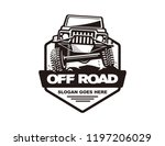 off road car logo template | Shutterstock .eps vector #1197206029
