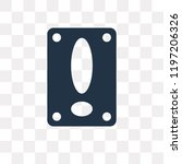 attention vector icon isolated... | Shutterstock .eps vector #1197206326