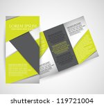brochure design | Shutterstock .eps vector #119721004