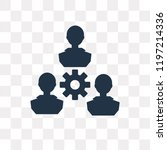 work team vector icon isolated...   Shutterstock .eps vector #1197214336