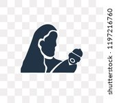 motherhood vector icon isolated ... | Shutterstock .eps vector #1197216760