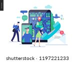 business series  color 3  ... | Shutterstock .eps vector #1197221233
