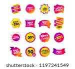 sale banner templates design.... | Shutterstock .eps vector #1197241549