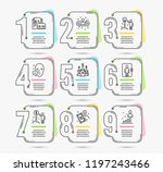infographic template with... | Shutterstock .eps vector #1197243466