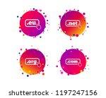 top level internet domain icons.... | Shutterstock .eps vector #1197247156