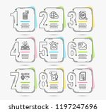 infographic template with... | Shutterstock .eps vector #1197247696