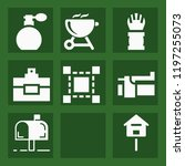 tool filled set of vector icons ...   Shutterstock .eps vector #1197255073