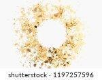 christmas composition.... | Shutterstock . vector #1197257596